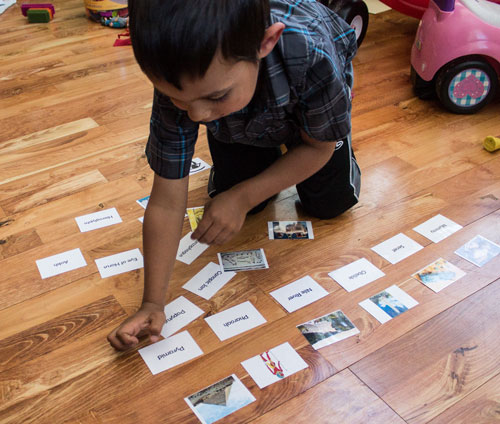 Using Ancient Egypt Definition Cards