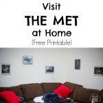 Visit the Met at Home