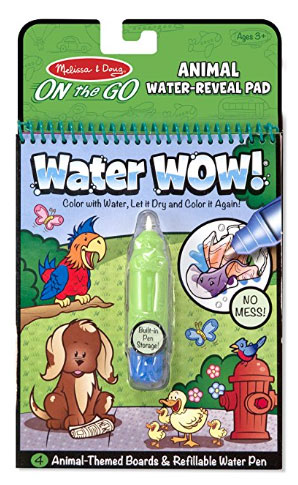Water Wow Coloring Book