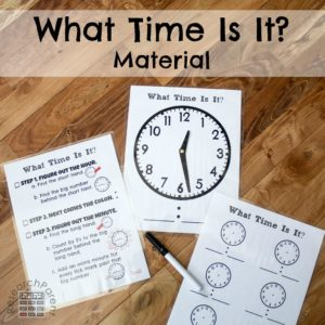 What Time Is It Material