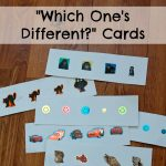 Which One's Different? Cards
