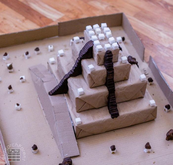 Ziggurat inside Uruk