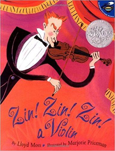 Zin Zin Zin a Violin by Lloyd Moss
