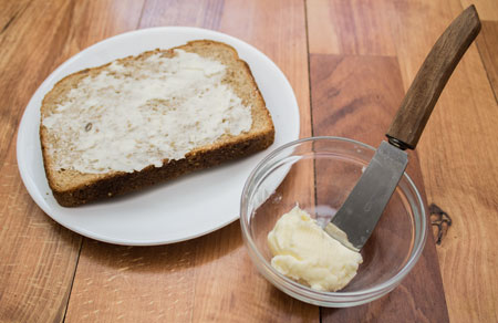 Bread and Homemade Butter
