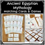 Ancient Egyptian Mythology Matching Cards and Games