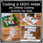 Coding a Lego Maze Activity