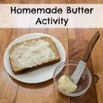 Homemade Butter Activity