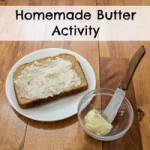 Homemade Butter Activity