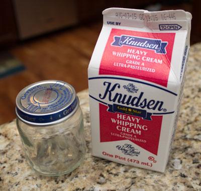 Homemade Butter Supplies