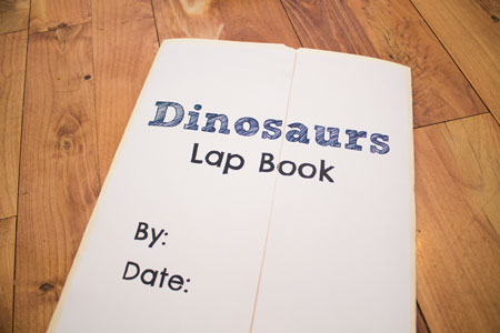 Lapbook Cover