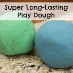 Long-Lasting Homemade Play Dough Recipe