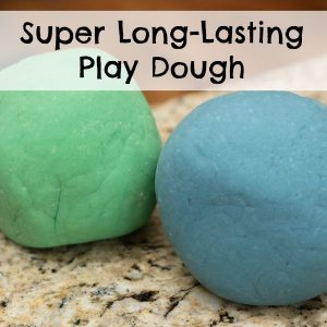 Super Long Lasting Play Dough
