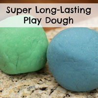 Long-Lasting Homemade Play Dough Recipe