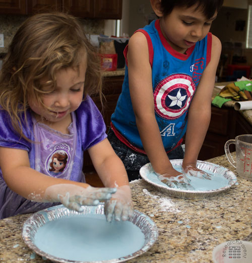 Smacking Oobleck